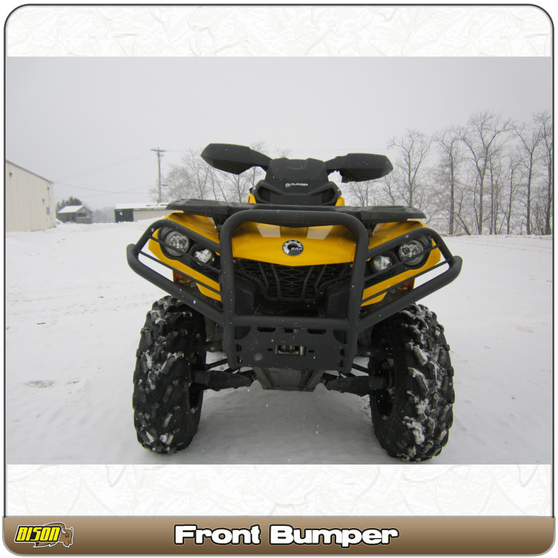 Can-AM Outlander 650 800 850 1000 (2012-2019) Quad ATV Bison Front Bumper  Brush Guard Trail Series