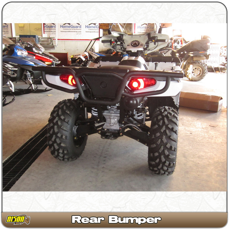 Polaris Sportsman 400 450 500 570 800 (2011-2019) Quad ATV Bison Rear  Bumper Brush Guard