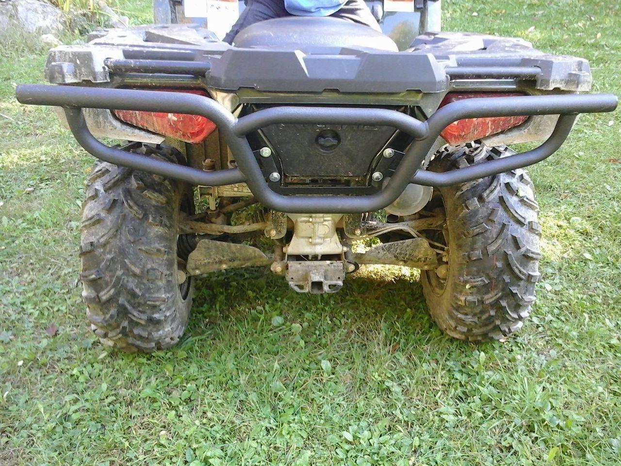 Polaris Sportsman 400 450 500 570 800 (2011-2019) Quad ATV Bison Rear  Bumper Brush Guard