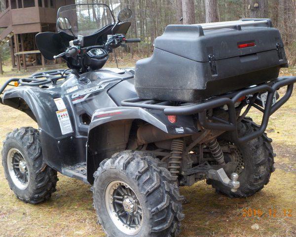 Yamaha grizzly kodiak 700 2016 2017 quad atv bison rear bumper what sciox Choice Image