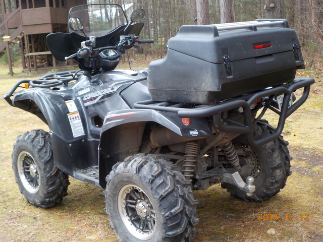 2017 Yamaha Grizzly >> Yamaha Grizzly 700 Rear Bumper