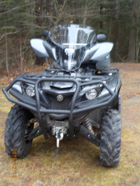 Yamaha Grizzly Kodiak 700 2016 2017 Quad Atv Bison Front